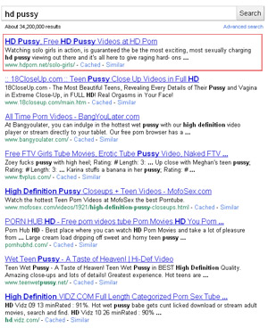 Page 1 Google Rankings Trailing Keywords